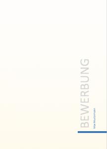 Vorlage Deckblatt 2 Meinebewerbungnet
