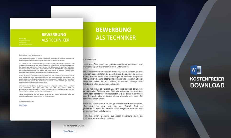 Bewerbung Anschreiben Apple - MeineBewerbung.net