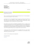 Bewerbungsschreiben Muster IV