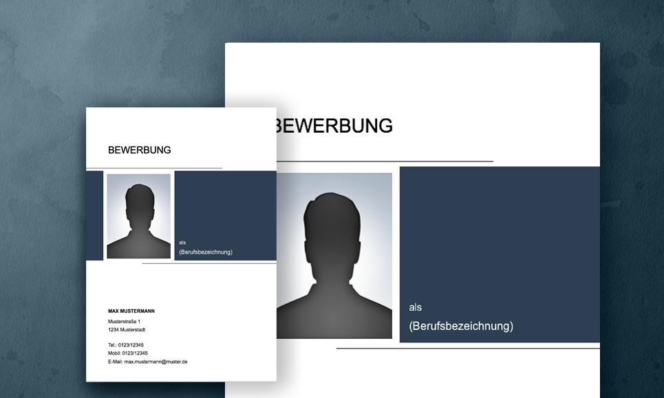 Deckblatt Bewerbungsvorlage 2017 2018 Meinebewerbungnet