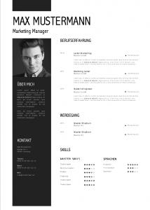 Premium Muster Lebenslauf Meinebewerbung Net