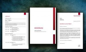 Muster Bewerbungsmappe inkl. Lebenslauf und Anschreiben
