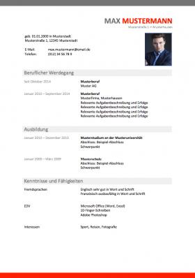 Bewerbung Kostenfreie Muster Und Vorlagen Meinebewerbungnet