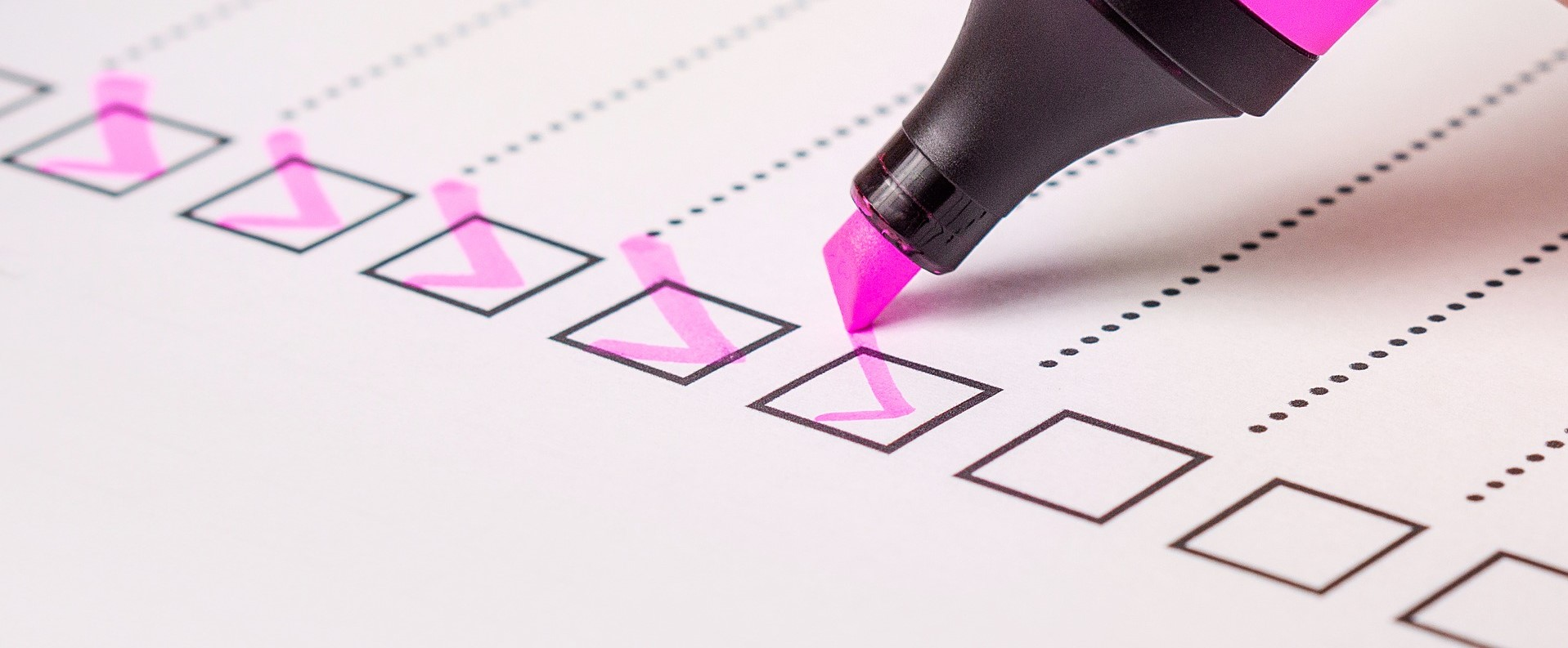 Checkliste: Lebenslauf
